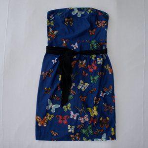 Anthropologie Butterfly Dress